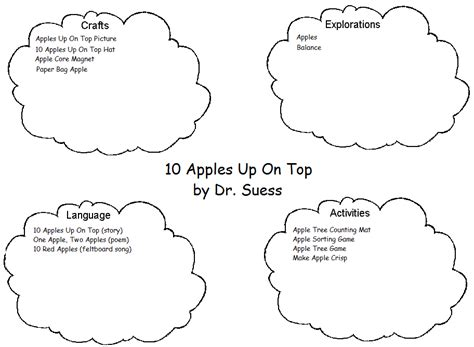 10 apples up on top coloring pages coloring pages