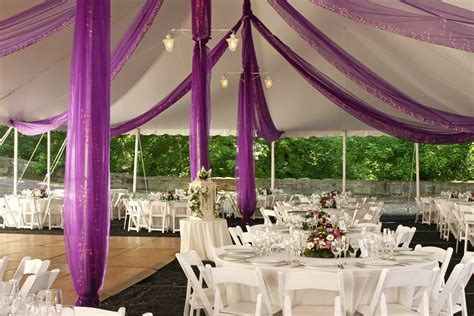 Marquee decoration   Articles   Easy Weddings
