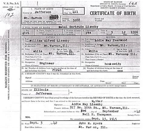 Jefferson County Birth Records Birth Certificate Images Jefferson County Il