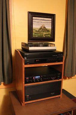 handmade small stereo cabinet michael walters artisanal