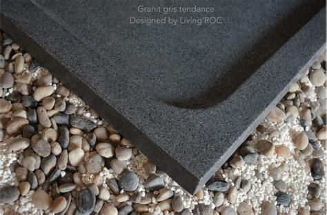receveur de granit receveur de 120x100 granit noir haut de gamme kiaora