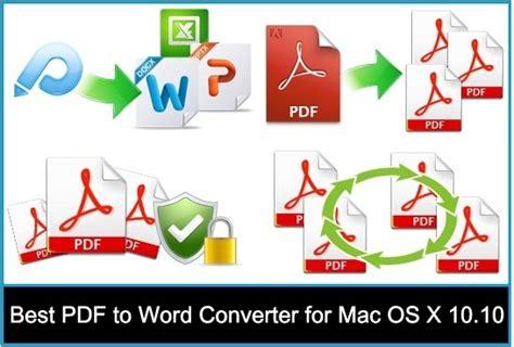 convert pdf to word os x yosemite best pdf to word converter for mac 2018 macos high sierra