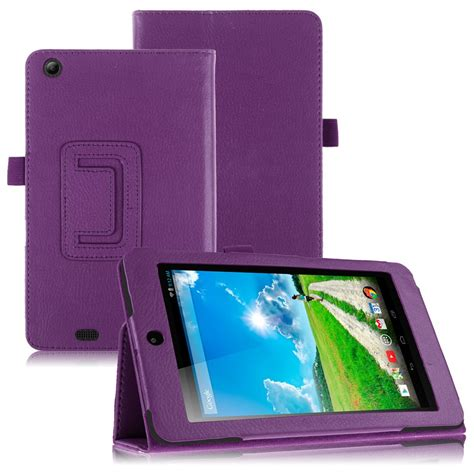 for acer iconia one 7 b1 730hd tablet folio luxury pu