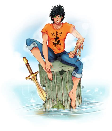 Percy Jackson Fanart By Niveusanguis On Deviantart