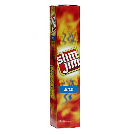 slim jim slim jim slim mild 24ct snacks snacks