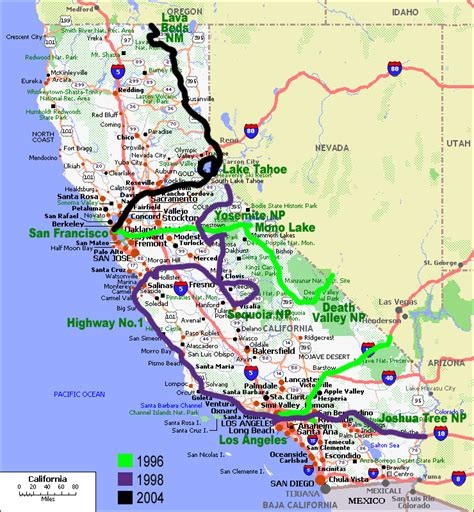 california map road pin california road map larger on