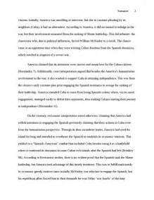 American War Essay by American War Essay