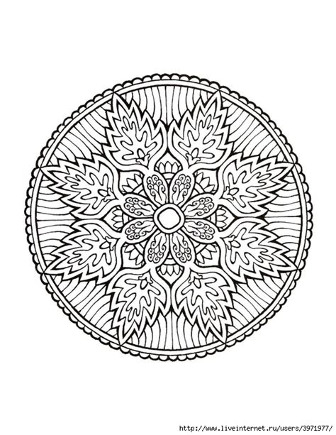 mandala coloring in book coloriages mandalas on mandalas mandala