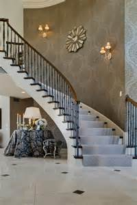 Decorating Staircase Wall Ideas Wallpaper Sconces Wall Decor