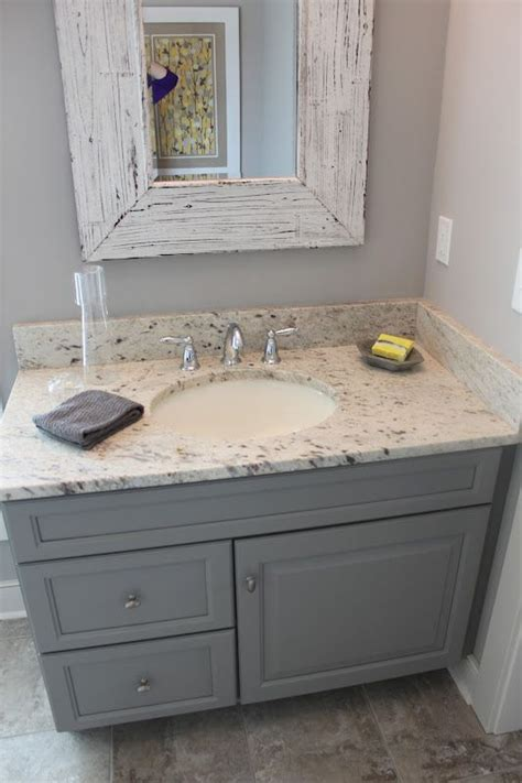 done in a weekend bathroom refreshes vanities cabinets and striped walls gray bathroom ideas for relaxing days and interior design