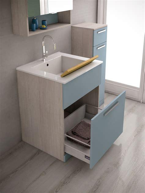 lavello con mobiletto mobile lavanderia con lavatoio lavanderia 4 by legnobagno