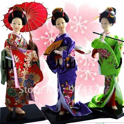 japanese kabuki dolls cheap collect doll 12 inch mix style
