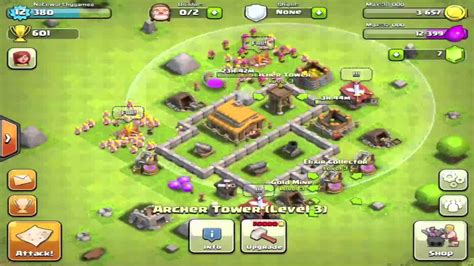 clash of clans layout strategy level 4 best clash of clans defense strategy for town hall level 3