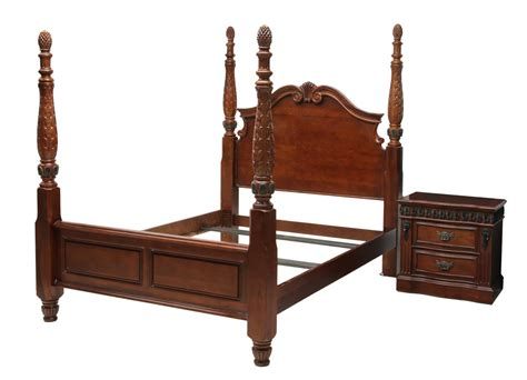 pineapple bed 2 pineapple carved poster bed nightstand winter