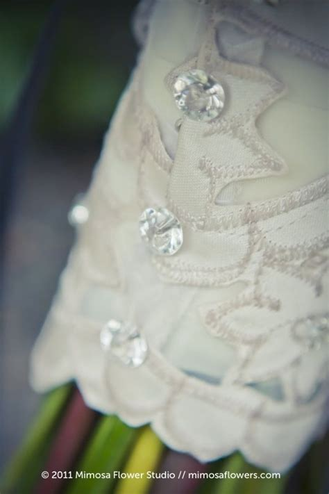 Wedding Bouquet Handle by 47 Best Bouquet Handle Wraps Images On Wedding