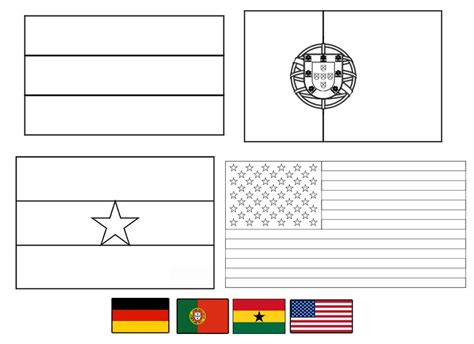 Free Coloring Pages Of Portugal Flag Portugal Flag Coloring Page