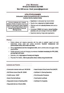 Office Cleaning Resume by Office Cleaner Resume Exle Resumes Design