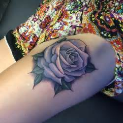 rose thigh tattoo best tattoo ideas gallery