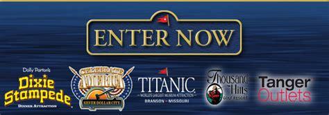 Branson Giveaway - titanic branson getaway giveaway titanic branson