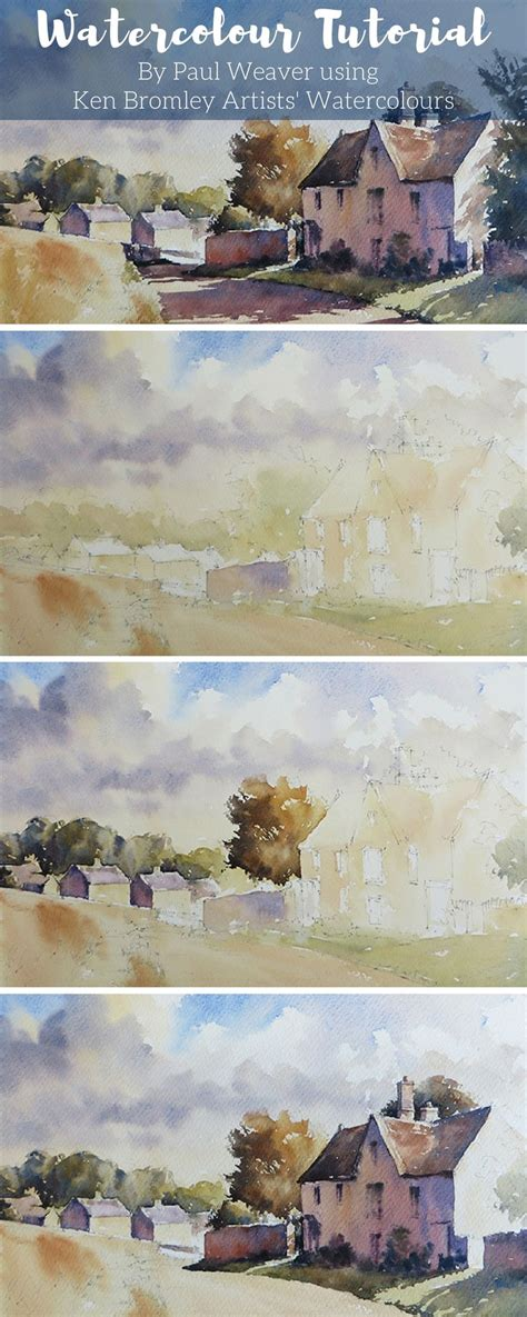 tutorial watercolor landscape best 20 watercolor painting tutorials ideas on pinterest