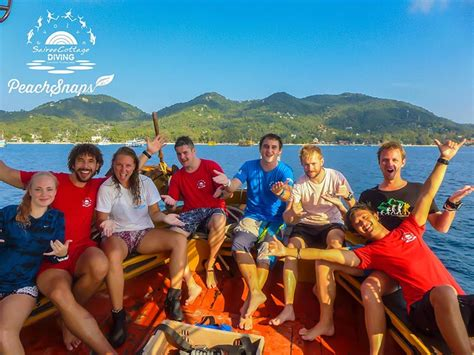 sairee cottage koh tao divemaster course dmt koh tao sairee cottage diving