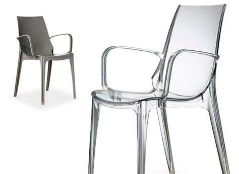 sedie plastica design sedia impilabile in plastica vanity di scab design per