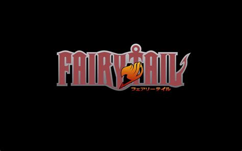 wallpaper anime logo fairy tail logo wallpapers wallpaper cave