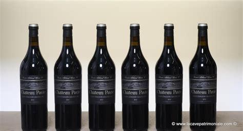 chateau pavie ch 226 teau pavie 2012 primeur superbe vin d 180 investissement