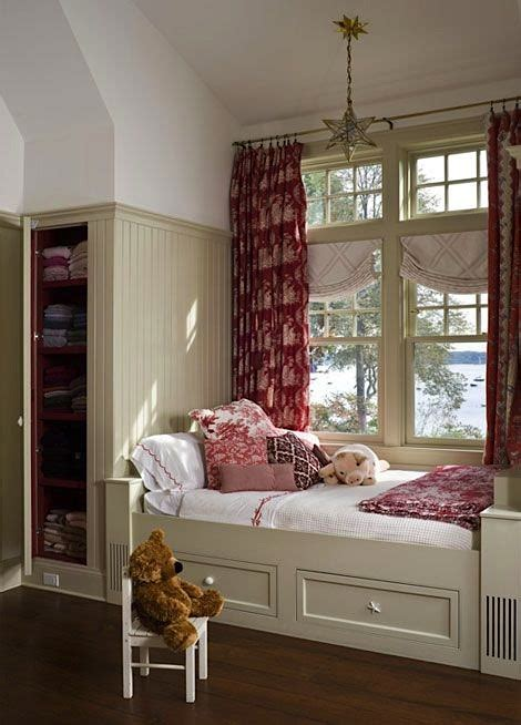 window bed 10 awesome window seats kids room storage solutions