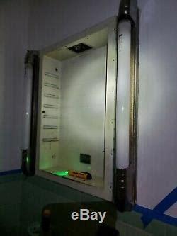 cavalier recessed chrome medicine cabinet  side lights
