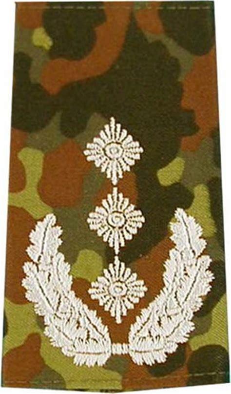 Jaket Mt020 army shop rangabzeichen bw heer tarn silber oberst