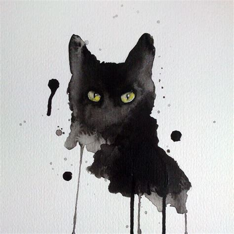 cat painting how to 25 best ideas about watercolor cat on