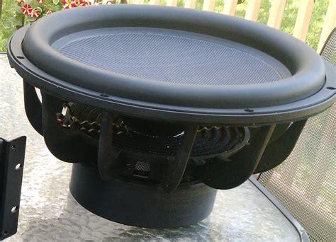 sold dayton audio ultimax um   subwoofer driver