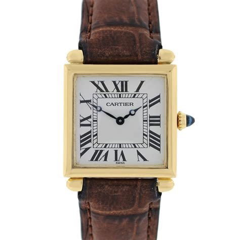cartier leather cartier tortue w1531851 white black leather