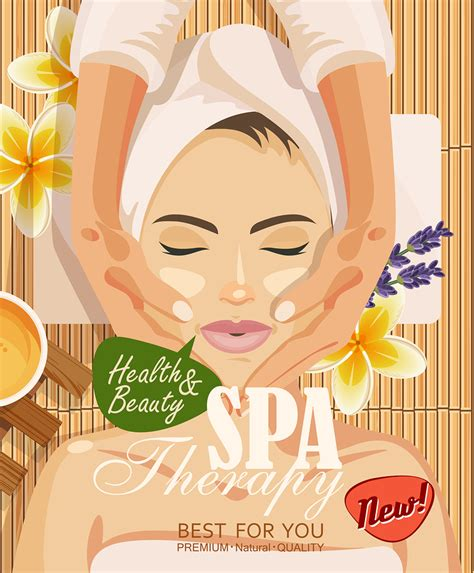 Lovely Spa Room Decor Ideas #2: Stock-vector-illustration-beau-98799803.jpg