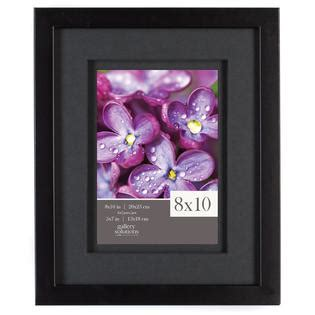 Frame Matted To 8x10 by Gallery Solutions 8x10 Black Frame Airfloat Matted To 5x7