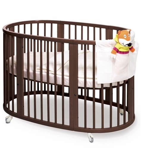 Stokke Sleepi Crib Walnut Stokke Mini Crib