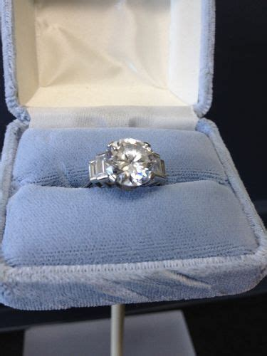 titanic film jewellery titanic movie kate winslet s prop diamond engagement ring