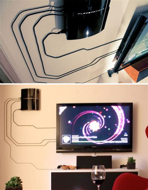 Living Room Designer by Clever Cord Organization 14 Solutions To Manage Clutter