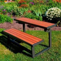 lifetime outdoor benches convertible outdoor bench