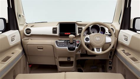 honda launches all new n box slash kei car in japan inside