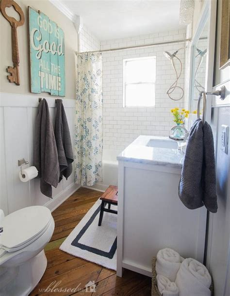 Bathroom Decor Housekeeping Before And After A Dated Pink Bathroom Gets A Major Refresh