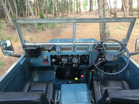 land rover series diesel land rover series iii 88 lightweight diesel for sale