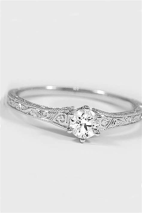simple engagement rings the gallery for gt simple silver wedding rings for