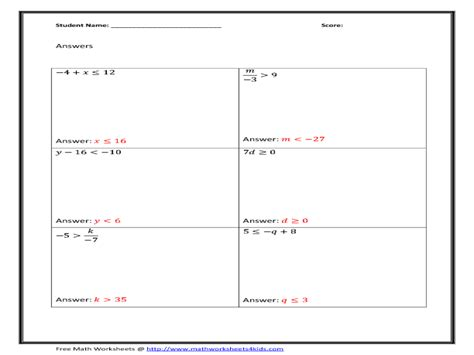 Solving Equations By Adding Or Subtracting Worksheet by Solving Equations By Adding Or Subtracting Worksheets