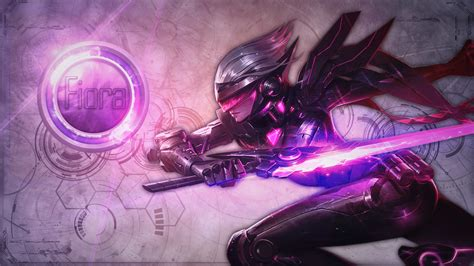 fiora it project fiora lolwallpapers