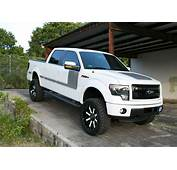 Ford F 150 Truck With Custom Painted Wheels  Off Road