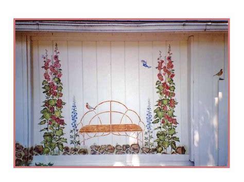 garage wall murals murals stencils garage mural jpg