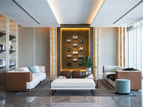 Casa Interior Design by Fendi All Projects