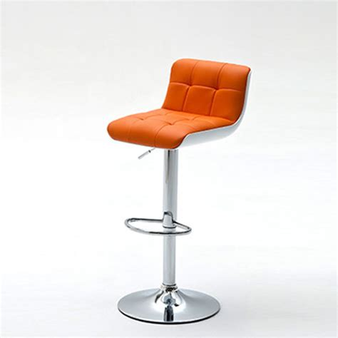 Orange Faux Leather Bar Stools by Buy Cheap Orange Stool Compare Chairs Prices For Best Uk